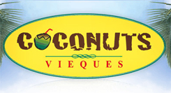 There are many great restaurants to eat at on the island of Vieques such as Coconuts!